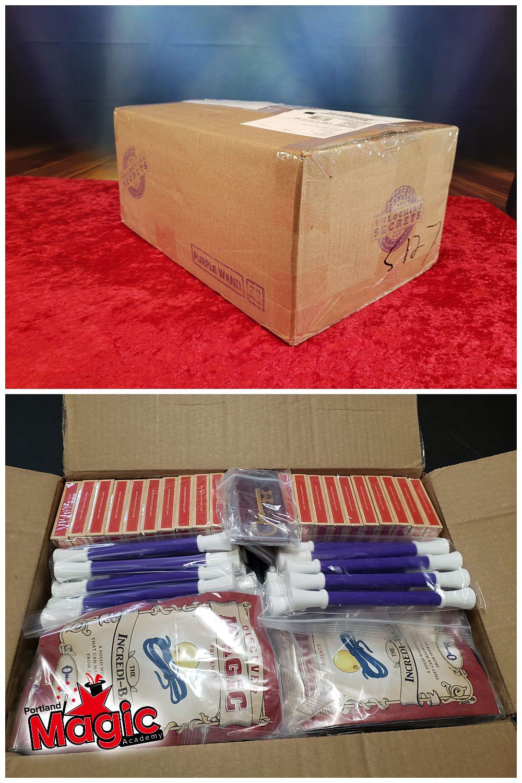 magic supplies in box