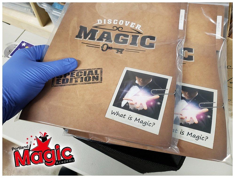 magic fold folders for magic classes