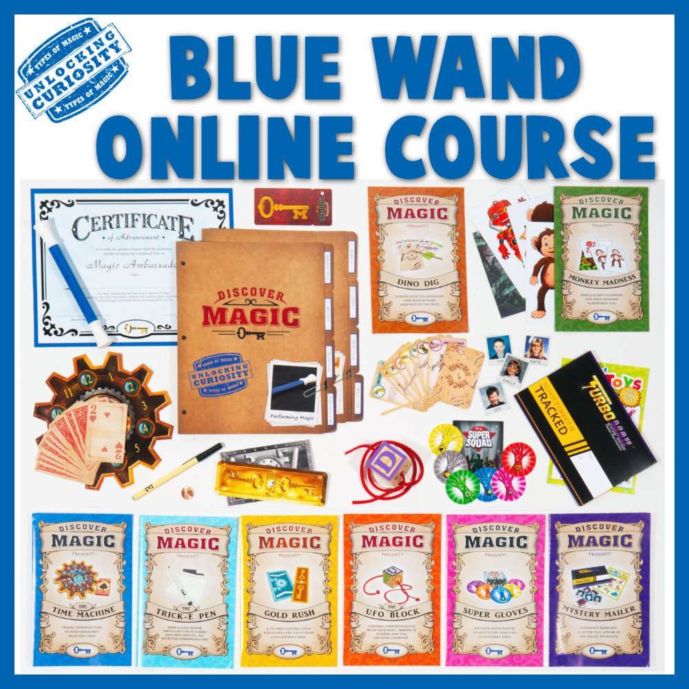 Blue Wand Online Magic Class Contents