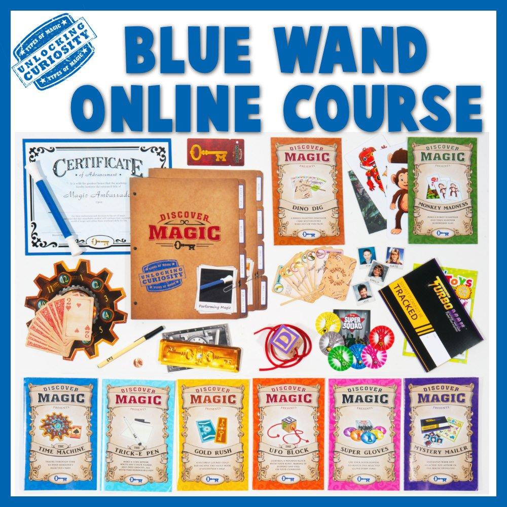 Blue Wand Online Magic Class Contents