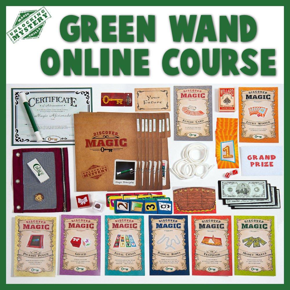 Green Wand Online Magic Class Contents