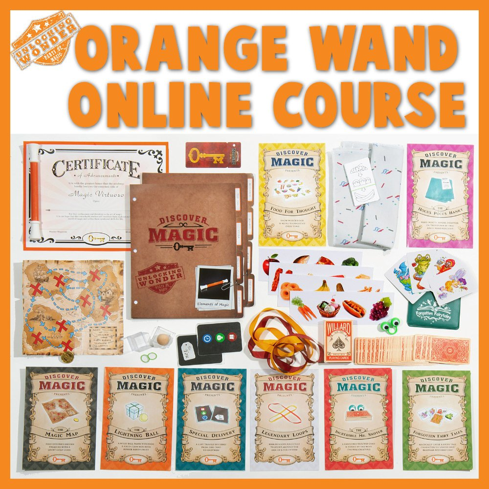 Orange Wand Online Magic Class Contents